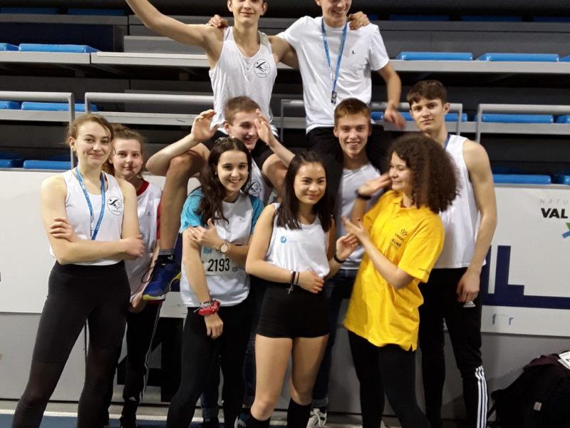 24ème championnats nationaux d'athlétisme en salle